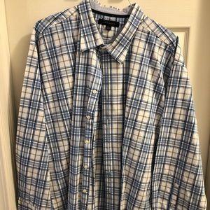 Tommy Hilfiger Button Up Shirt - XXL - Plaid